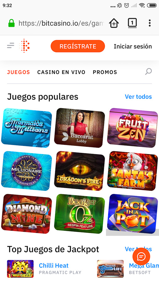 Bitcasino movil